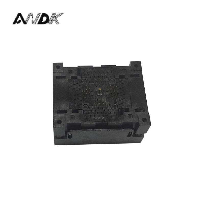 QFN40 MLF40 NP506-040-016-C-G IC Test Socket Burn in Socket Opentop Chip Size 6*6 Flash Adapter Connector Programming Socket qfn52 mlf52 mlp52 np506 052 052 sc g burn in ic test socket opentop chip size 7 7 programming socket flash connector wholesale