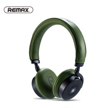 Remax Headset RB-300HB Touch Control Headband Bluetooth V4.1 Headset Wireless AUX Stereo Earphone Music Headphone HD Microphone