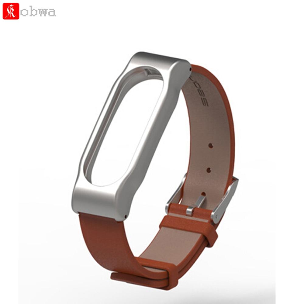 Bracelet Miband Original Belt-Replacement Strap Metal-Frame Xiaomi for 2/Original/Wristband/..