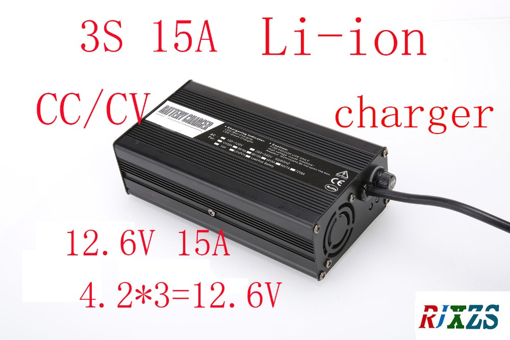 Chargeur 12.6 V 15A pour batterie 3 S lipo/lithium polymère/Li ion chargeur intelligent support CC/CV mode 4.2 V * 3 = 12.6 V-in Chargeurs from Electronique    1