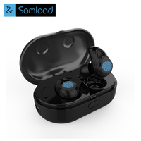 Samload Touch Control Wireless Bluetooth Earphone Hifi With MicTWS Wireless Earbuds Stereo Microphone For Phone With