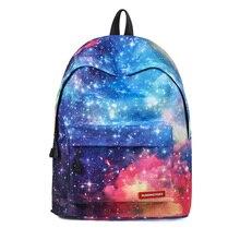 Star Universe Space Printing Backpack for Teenager Men Travel Bag Starry Sky Women Fashion School Bag Galaxy Schoolbags For Girl harajuku purple star galaxy printing backpacks women men school bag boy girl casual drawstring bag