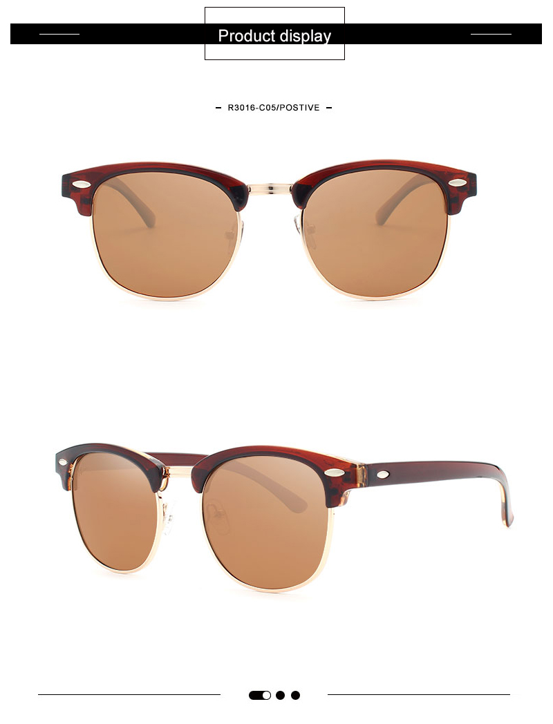 7e6ba984d Clássico Designer Shades Quadro Colorido Revestimento de Espelho Reflexivo  Óculos De Sol Dos Homens Das Mulheres Da Marca