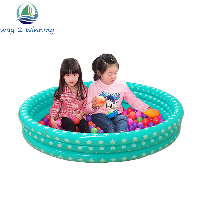 Trinuclear Inflatable Ocean Ball Pool Baby Swimming Pool Piscina For Newborn Portable Outdoor Tent Children Basin Bathtub Teepee