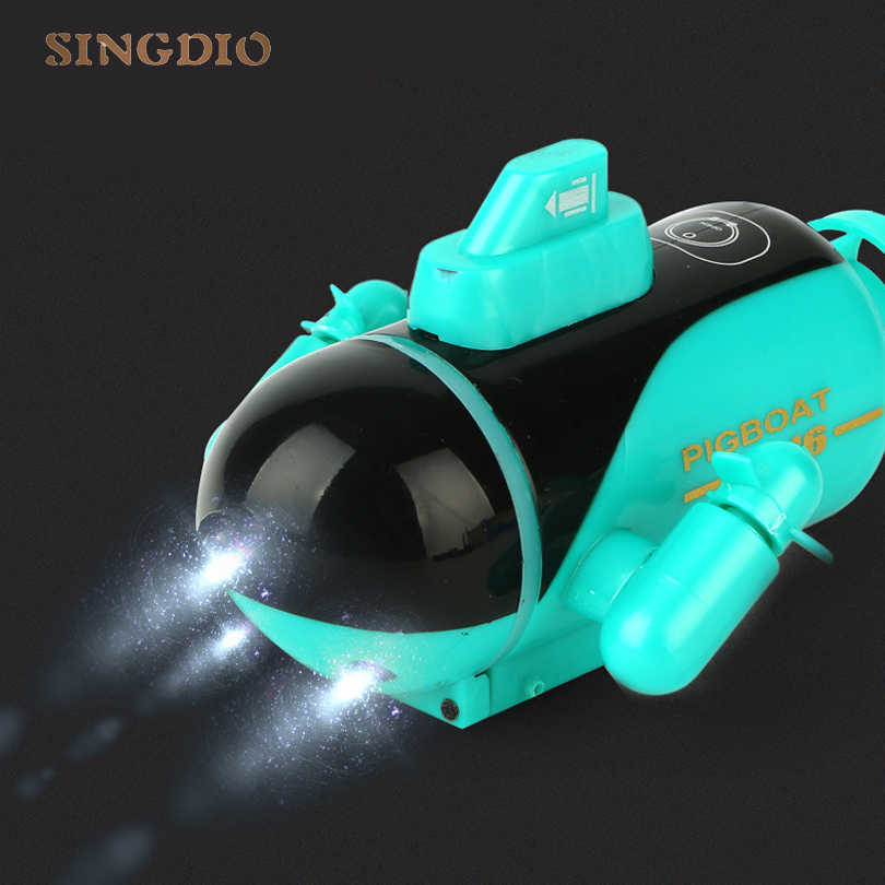 Rc sender drahtlose elektrische mini fernbedienung tauchen u-boot schiff drone modell boot kinder spielzeug verkauf Kinder Geschenk Spielzeug