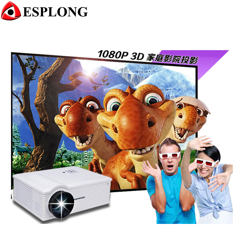 Brand New Eink PH580 1280 x 800p 5.8 inch LCD Panel LED Projector with Remote Control 3200 lumens Built in Speaker lq080v3dg01 8 0 inch lcd brand new with toucanel