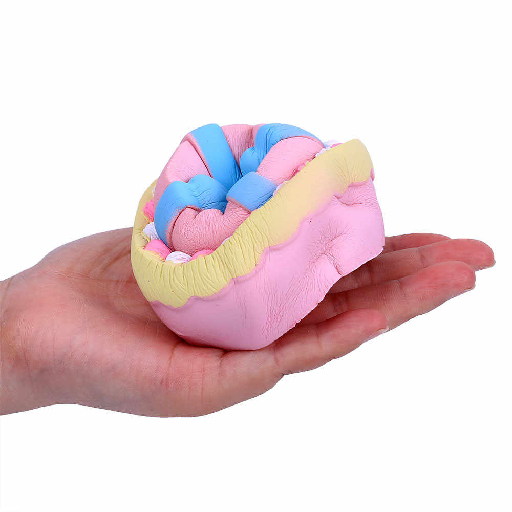 Bersantai Mainan Lucu Lucu Jumbo Busur Kue Beraroma Squishies Soft Scented Super Lambat Rising Anak-anak Mainan Stres Pereda Mainan D300108