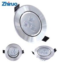 LED Downlights Warm White Nature White Recessed LED Lamp Spot Light AC220V 110V Living Room Decoration Light Decor Down light