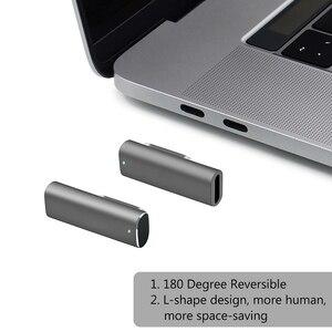 Image 3 - Magnetische USB C Adapter, typ C Typ C USB 3.1 VeIDI 4 K @ 60 Hz Hohe Auflösung Unterstützt High Speed Magnet USB C datum Adapter