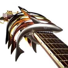 Zinc Alloy Shark Capo Cool Design for Acoustic Electric classical Guitar  Musical Instrument Guitar Accessories GC-30