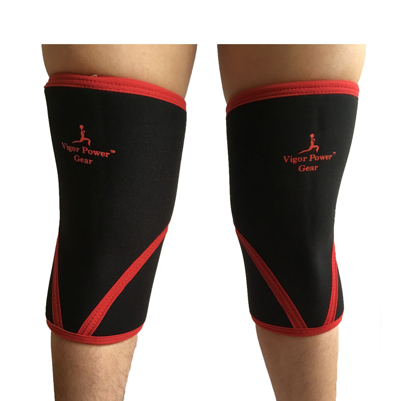 VPG WL1406 Free shipping higher quality weight lifting knee sleeves for powerlifting crossfit knee pad for