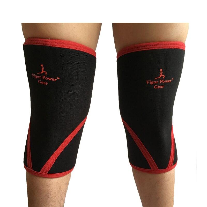 VPG-WL1406 Kostenloser versand höhere qualität gewichtheben kniestütze ärmeln für powerlifting, crossfit knie pad für frauen und männer