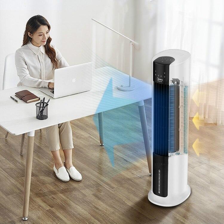 Midea ventilateur de climatisation réfrigérateur petit refroidisseur d'air ménage Mini plancher d'eau ventilateur de refroidissement AAC12AR Portable climatiseur