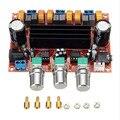Nueva Llegada TPA3116D2 50wx2 100 W Digital de 2.1 Canales Subwoofer Tablero Del Amplificador 12 V-24 V Potencia