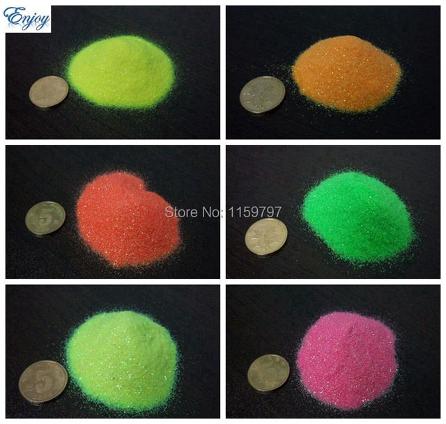 Neon glitter powder shiny glitter dust for DIY nail art /Crafts/Festival accessories,nail decoration 1lot