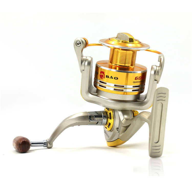 Hot Sale Fishing Reels 5bearings Interchangeable Rock Arm Original Factory Front Drag Spinning Reel High Quality Fishing Db6000a
