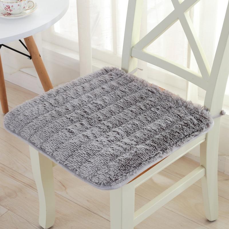 Super Comfortable Plush Dining Chair Cushion Car Mat Sofa Pad Non Slip Seat