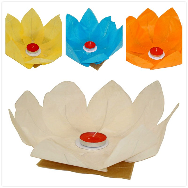 Active 5 Colors Led Flood Lights Artificial Lotus Floating Flower Shaped Lamps For Outdoor River Swimming Pool Blessing Lights Led Lamps Lights & Lighting