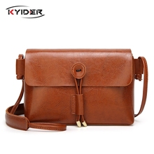 Women Vintage Small Square Messenger Bags Casual Shoulder Crossbody Bags Soft PU Leather Handbags Clutches Ladies Party Bag стоимость