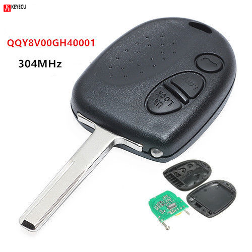 US $21 5 10% OFF KEYECU New Uncut Remote Control Key Fob 3 Button for  Holden Commodore Genuine VS VR VT VX VZ VY-in Car Key from Automobiles &