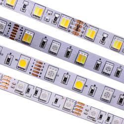 SMD 5050 RGB Светодиодная лента водостойкая светодио дный 5 м 300 led DC 12 В в В 24 В CCT RGBCCT RGBW RGBWW белый теплый белый Fita светодио дный светодиодные