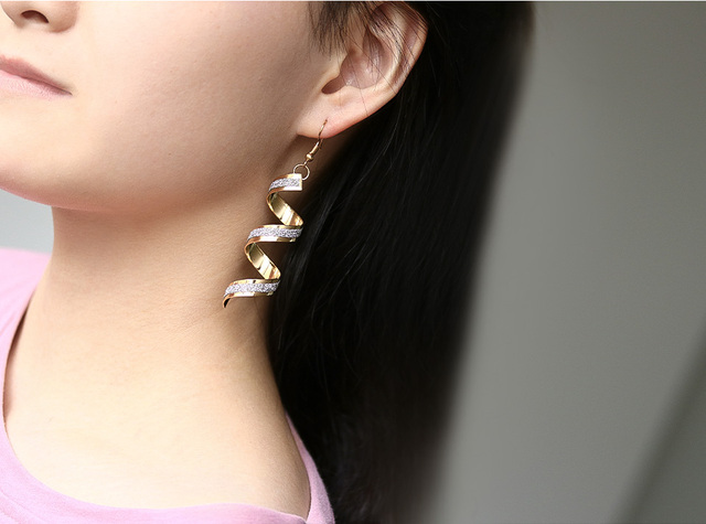 Fashion New Women's Acrylic Drop Earrings Hot Selling Long Dangling Earrings Gift For Women Party Wedding Jewelry Brincos 29