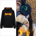 Thrasher New Hooded Streetwear Hip Hop Hoodies Sweatshirts Men Women Spring Autum Winter Outerwear Cool Clothing 2XS-4XL