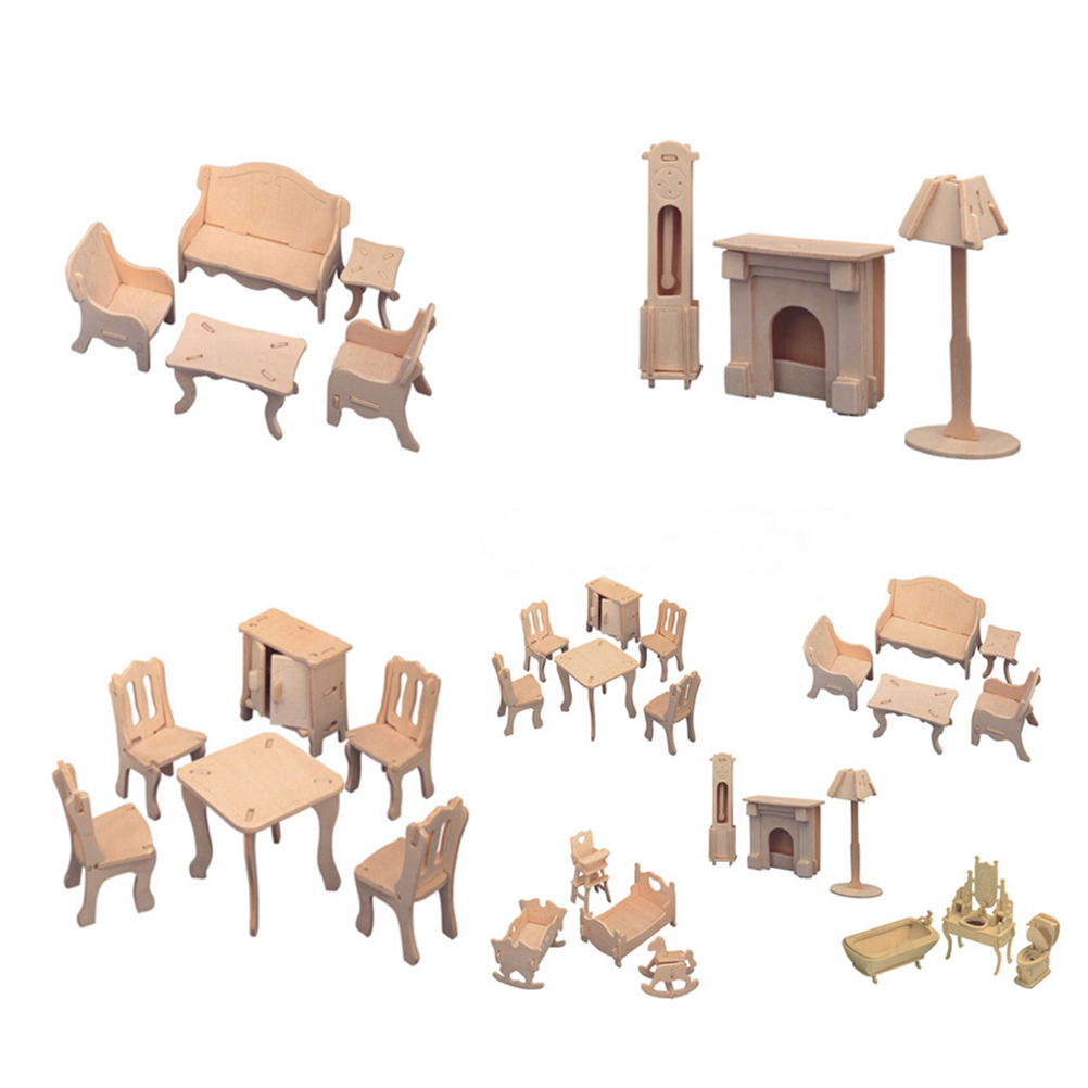 Mini Casa De Mu Ecas En Miniatura Muebles Educativos Muebles De  # Muebles Educativos