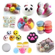 NewStress Brinquedos alívio para Relaxar Pão Pãezinhos Macios Moda Panda  Phone Straps Aperto Cintas Celular Encantos 0dffebb7c0