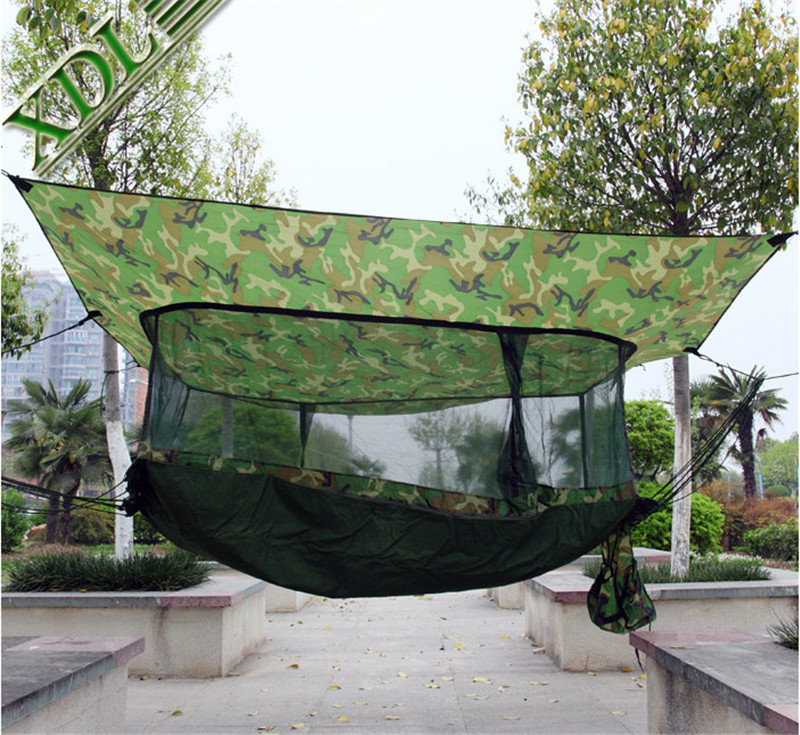 new portable multifunctional sleeping bed hammock tents   outdoor travel camping backpacking camo military jungle in tents from sports  u0026 entertainment on     new portable multifunctional sleeping bed hammock tents        rh   aliexpress