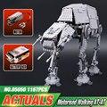 NUEVA LEPIN 05050 1137 unids AT-AT el robot Modelo Building blocks Ladrillos Clásico Compatible 75054 Niños Regalos