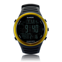 Золотистый цвет FR720A5 открытый часы часы мужчины часы рыбалка погода высота скалолазание туризм часов