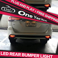 AKD Car Styling for FORTUNER LED Width Light DRL Signal Light  Fog Lamp LED Rear Bumper light Automobile Accessories