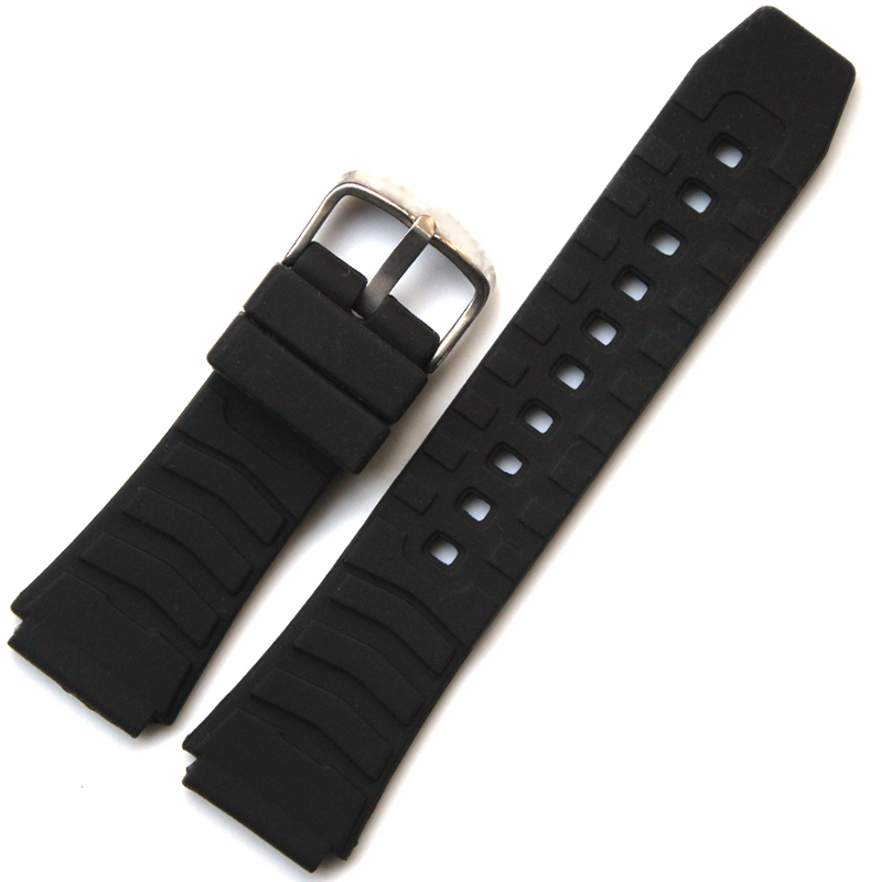 Rubber strap for Casio PRG-80 / PRW-1000 / PRW-1100 / PAG-80 multi-series available watch accessories casio prw 7000 1b