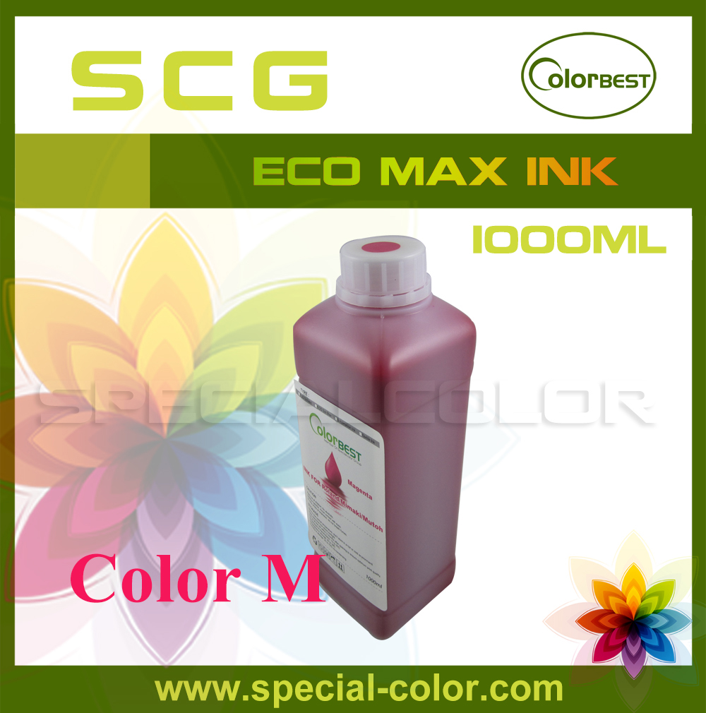 ФОТО Color M Roland /Mimaki /Mutoh eco solvent ink with EPSON dx5/DX4 head