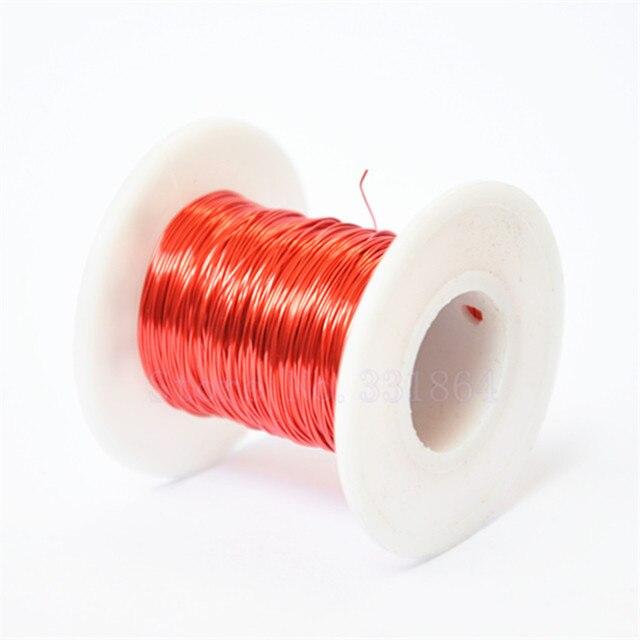 QA 1 155 100 m/teil Red Magnet Draht 0,2mm Kupferlackdraht ...
