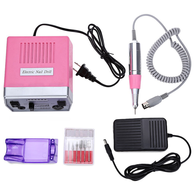 18W 30000RPM Electric Nail Drill Machine 220V/110V Pro Manicure Pedicure Nail Art Tools Polishing Machine To Nail G-031 мурзилка сборник мультфильмов