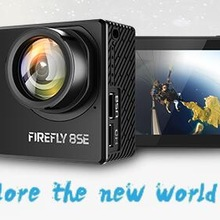 In Stock Hawkeye Firefly 8SE Action Camera With Touchscreen 4K 30fps 170 Degree Super-View Bluetooth