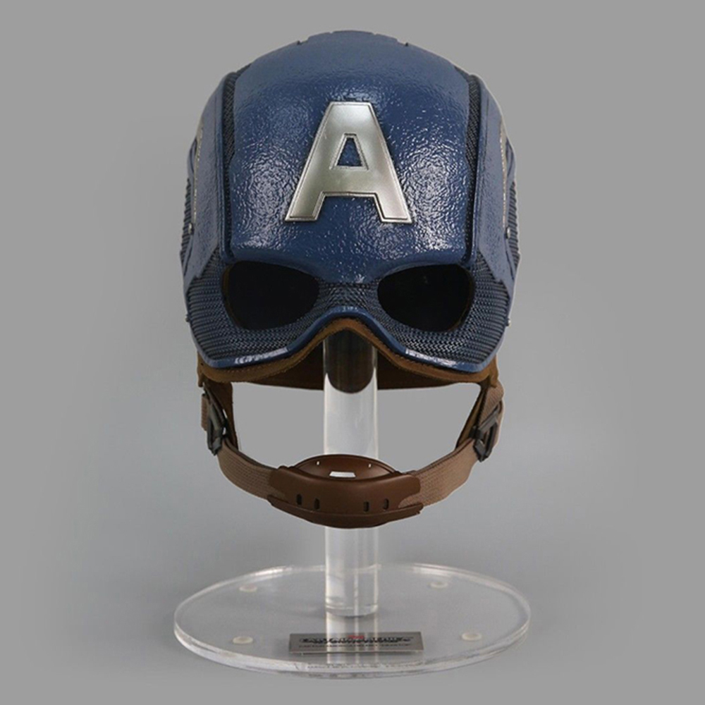 Avengers Infinity War Captain America Superhero 1:1 Mask Cosplay Helmet Action Figure Collectible Model Toy Box Z54 life Size