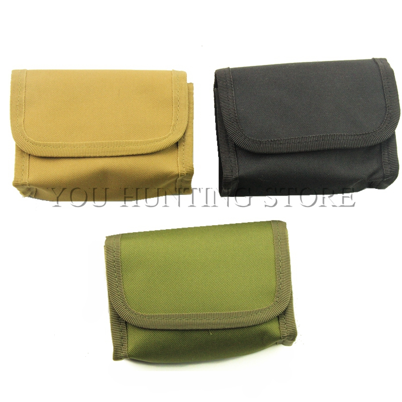 10 Rounds Shells Bullet Pouch Tactical Rifle Shotgun Stock Ammo Shell Nylon Magazine Holder Waist Bag image