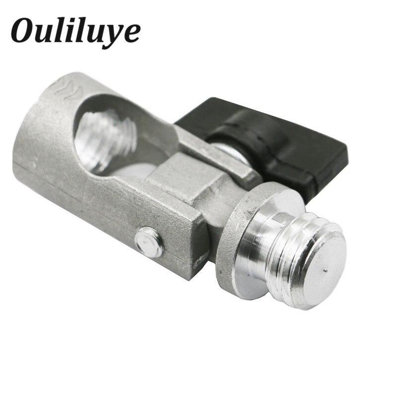 Tripé e Laser Ângulo de Ajuste Nível Adaptador Haste Rotativa Joint Suporte Tilt Slash 5 – 8 Rosca 360 Graus Rotatable Ferramenta