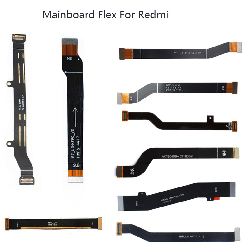 Main Board Motherboard Connector Board Flex Cable For Xiaomi Redmi 2 3 4 4A Replacement Parts Flex Cable For Redmi 5 5A PLUS 6(China)