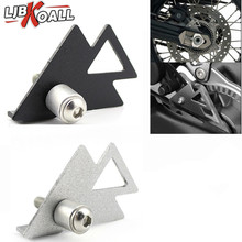 Black/Silver Stainless Steel Rear ABS Sensor Protective Guard Cover Fit for BMW F800GS /ADV F700GS F650GS twin Motorcycle Parts