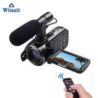 Freeshipping 2017 Camera 1080P Full HD WIFI 24MP Digital Video Camera With 3 Touch Screen And