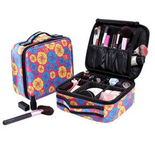 2019 Professional Makeup Organizer Women Travel Beauty Cosmetic Case For Make Up