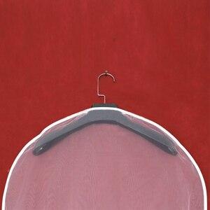 Image 3 - 2 Mặt Trong Suốt Voan Pha Lê Sợi Cưới Đầm Cô Dâu Bụi Có Dây Kéo Cho Gia Đình Tủ Quần Áo Váy Bầu Túi Bảo Quản AC018