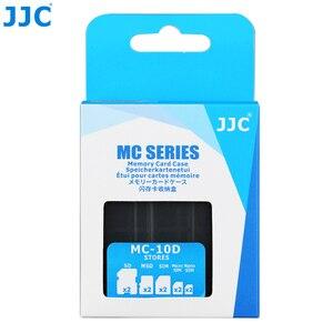 Image 5 - JJC SD CF TF SIM بطاقة نانو SIM كاميرا مقاومة للماء بطاقة الذاكرة صندوق تخزين صغير الحجم