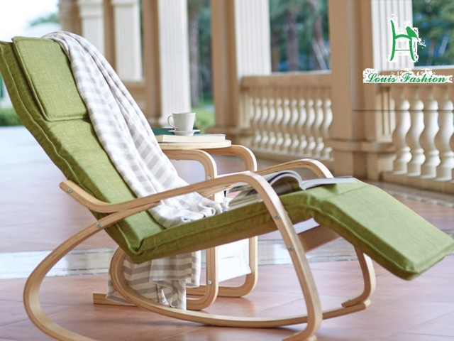 Contracted rocking chair lazy leisure balcony adult cloth for Sofa exterior jardim
