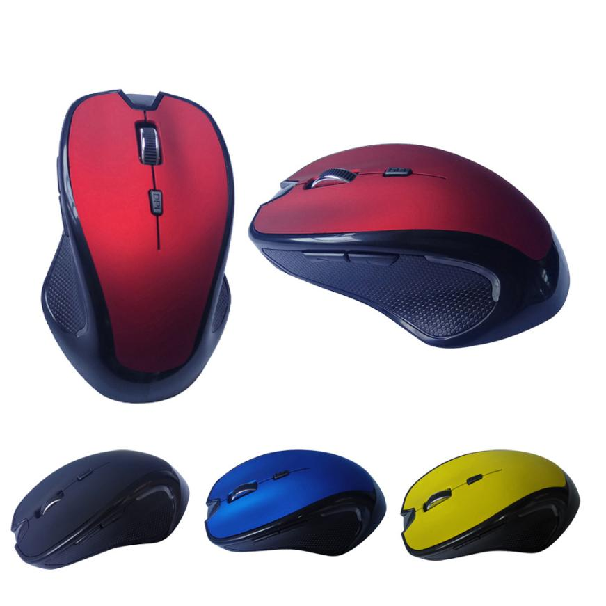 New 1pc 1600DPI Mini Wireless Bluetooth Mouse Optical Gaming Mouse Mice for Laptop Computer PC fe8