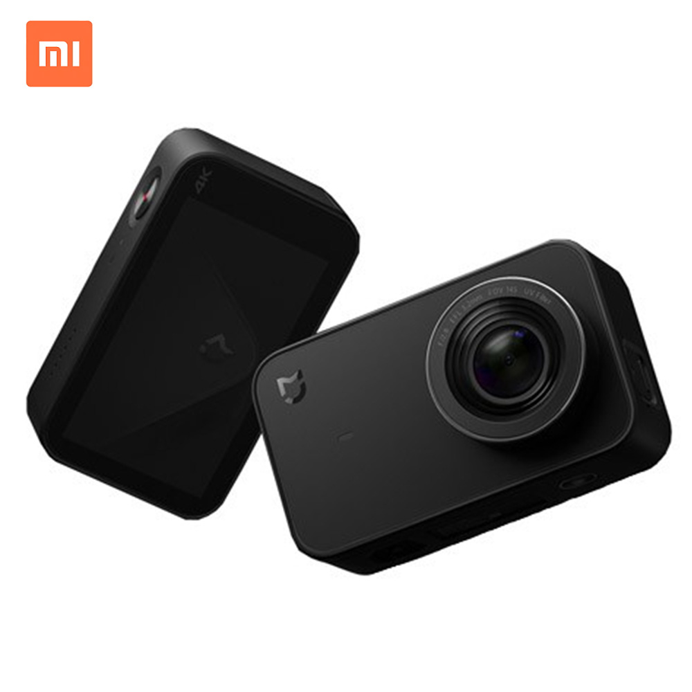 Original Xiaomi Mijia Mini Sport appareil photo numérique 4 K Ambarella A12S Ramcorder enregistrement vidéo IMX317 WiFi appareil photo numérique avec App